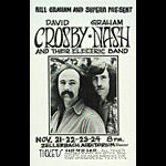 Randy Tuten David Crosby Poster