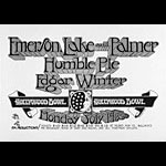 Randy Tuten Emerson Lake and Palmer Poster