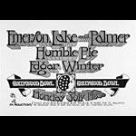 Randy Tuten Emerson Lake and Palmer Poster