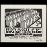 Randy Tuten Groucho Marx Poster - signed