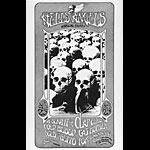 Randy Tuten Hells Angels 1971 Party Poster