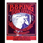 Randy Tuten Direct Productions Presents B.B. King Handbill