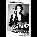 Randy Tuten Lou Reed Poster