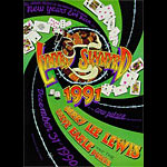Randy Tuten Lynyrd Skynyrd New Years Eve 1991 Poster - signed