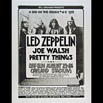 Randy Tuten Led Zeppelin Day On The Green Poster - signed