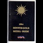 1984 Denver Gold Media Guide