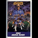 1985 Oakland Invaders Media Guide