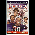 1984 Pittsburgh Maulers Media Guide