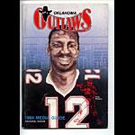 1984 Oklahoma Outlaws Media Guide