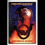 1983 Arizona Wranglers Media Guide