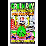 Uncle Charlie Green Day Poster