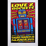 Uncle Charlie Love and Rockets Poster