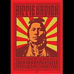 John Van Hamersveld Hippie Nation Poster