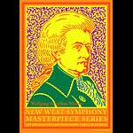 John Van Hamersveld Mozart Poster - signed