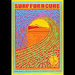 John Van Hamersveld Surf For A Cure Poster