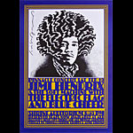 John Van Hamersveld Jimi Hendrix Shrine Poster - signed