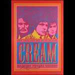 John Van Hamersveld Cream Poster - signed