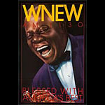 WNEW Louis Armstrong Poster
