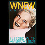 WNEW Peggy Lee New York Subway Poster
