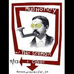 Justin Walsh Mudhoney Poster
