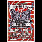 Dennis Loren White Stripes  Loretta Lynn Poster