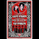 Dennis Loren White Stripes  Strokes Chene Park Poster
