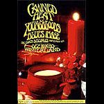 Randy Tuten Canned Heat, Youngbloods Winterland Handbill