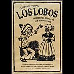 Zak Wilson Los Lobos Poster