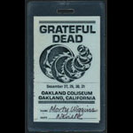 Grateful Dead New Year's Eve 1987-1988 Laminate