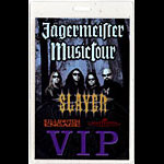 Slayer Jagermeister Tour 2004 Laminate