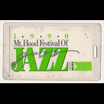 Mt. Hood Festival of Jazz 1990 Laminate
