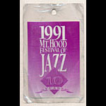 Mt. Hood Festival of Jazz 1991 Laminate