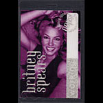 Britney Spears Oops I Did It Again 2000 Tour Laminate