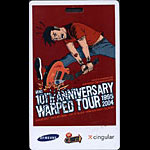 Warped Tour 10th Anniversary 2004 Laminate