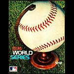 1974 World Series Baseball Program