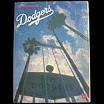 1975 Los Angeles Dodgers v New York Mets Scorecard Baseball Program
