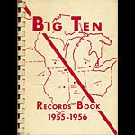 Big Ten Western Conference 1955 - 1956 Sports Records Book