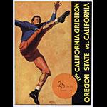 1937 Cal Bears Vs Oregon State College Football Program