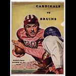 1947 Cardinals Vs Bruins College Football Program