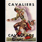 1951 Cavalier Vs Cavalcade College Football Program