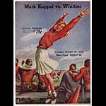 1946 Mark Keppel Vs Whittier College Football Program