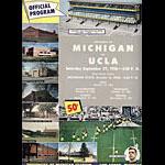 1956 Michigan Vs UCLA College Football Program