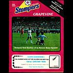 1978 Oakland Stompers vs Chicago Sting Soccer Program