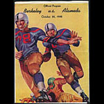 1948 Berkeley vs Alameda High School Football Program