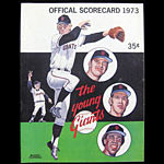 San Francisco Giants v Chicago Cubs 1973 Scorecard Baseball Program