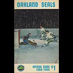 California (Oakland) Seals 1968 - 1969 Media Guide Hockey Media Guide