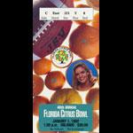 1992 Florida Citrus Bowl College Football Ticket