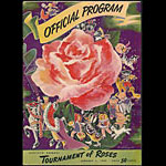 1949 Tournament of Roses Parade College Football Program