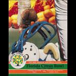 1992 Florida Citrus Bowl College Football Program