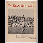 1958 Stanford Alumni Review College Football Program